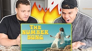 REACTING TO Logan Paul - THE NUMBER SONG (OFFICIAL MUSIC VIDEO) *HE SAID WHAT?* thumbnail