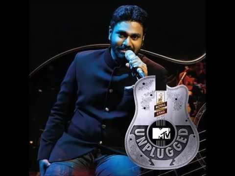 MTV unplugged.. Aankhen teri .. (Anwar) melody version by Mithoon
