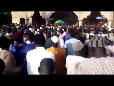 Enterment de cheikh Baye sokhna a fatick ,il repose desorme a medinatoul balléh