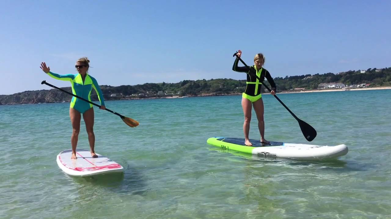 243d8a14b90 How to Stand Up Paddle Board by a SUP Pro - YouTube