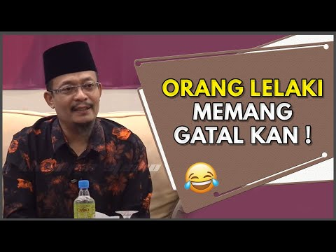 Ustaz...Orang Lelaki Ni Memang GATAI Kan ! | Ustaz Dato Kazim Elias