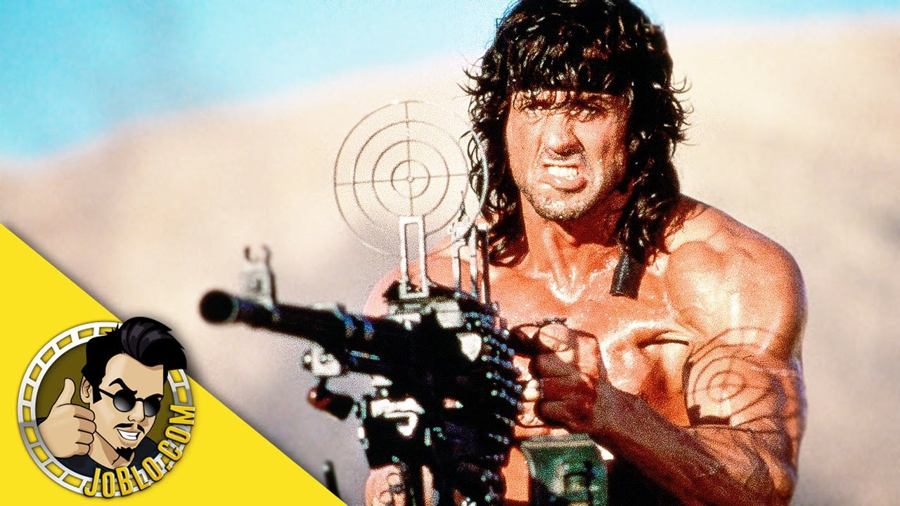 Rambo First Blood 1 To 4 Official Trailers 1992 2008 Stallone Youtube