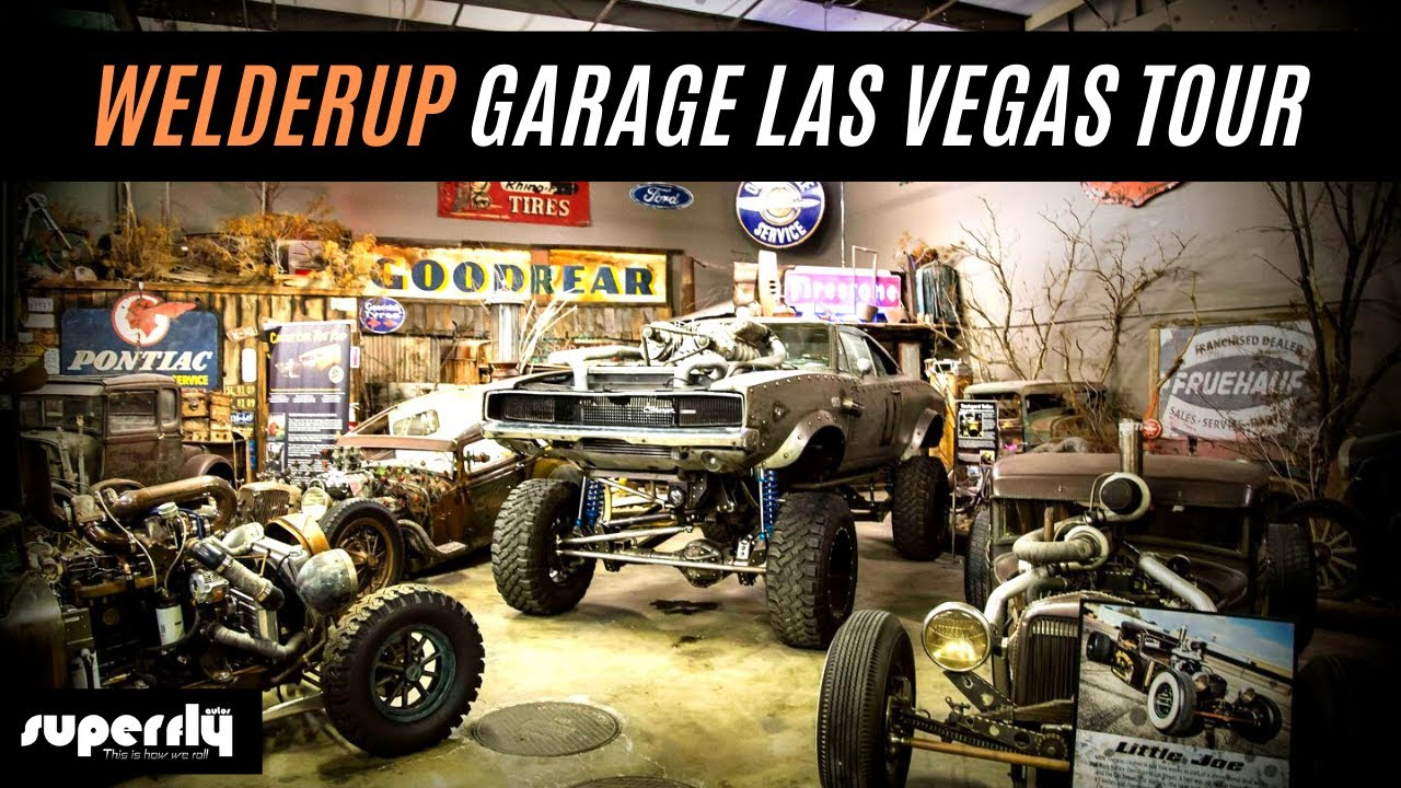 Welderup Garage Las Vegas Tour Youtube