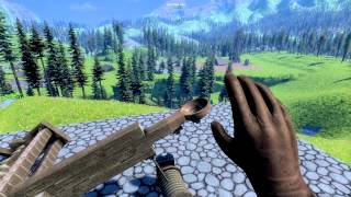 Medieval Engineers Tri Spring Catapult