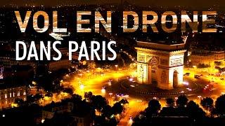 Vol en DRONE dans PARIS (Dji Inspire 2) - VLOG