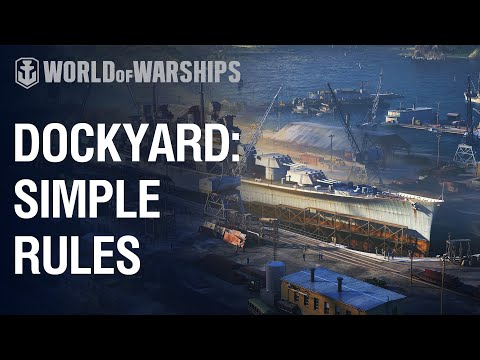 Dockyard: Simple Rules. How to Build Anchorage