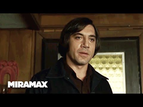 No Country for Old Men  'Milk Man' HD  Javier Bardem  MIRAMAX