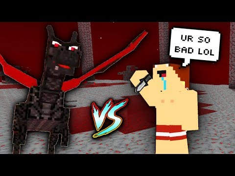 NOOB With WORST Knife Vs. DRAGON BOSS! (Pixel Gun 3D)
