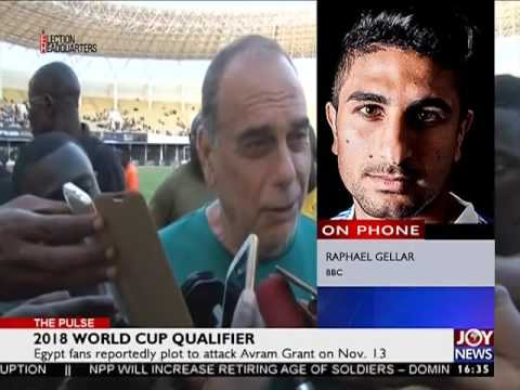 2018 World Cup Qualifier - The Pulse Sports on Joy News (2-11-16)