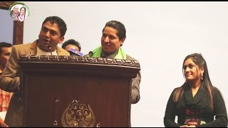 Dhurmus Suntali Comedy Risi Dhamala and KP Oli