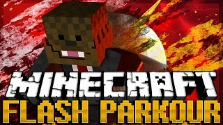 FAST AS A BULLET in Minecraft (Flash Parkour Map) w/ BajanCanadian, Bashur, AshleyMariee, and Will