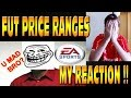 MY REACTION TO FIFA 15 PRICE RANGES!! F*CKED UP FUT MARKET?! PLAYERS NOT SELLING?!