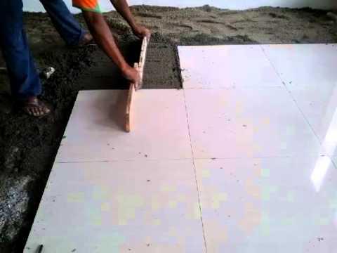 Cara Memasang Lantai Granit Keramik Praktis
