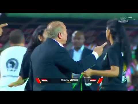 ملخص مباراة مصر وغانا اليوم