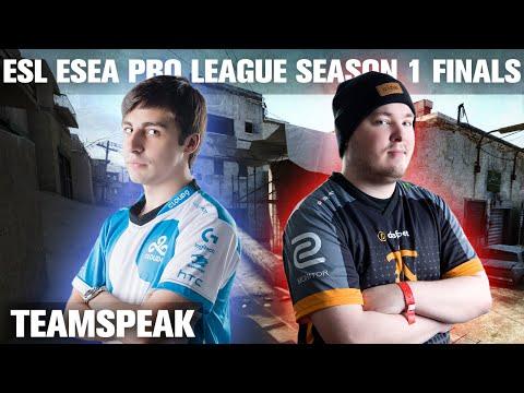 CS:GO - Cloud9 [teamspeak] vs Fnatic (dust2) @ ESL ESEA Pro League Finals
