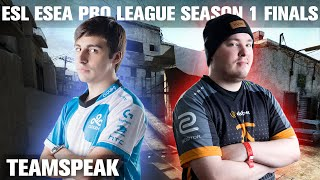 CS:GO - Cloud9 [teamspeak] vs Fnatic (dust2) @ ESL ESEA Pro League Finals