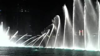 Dubai Dancing Fountain Mon Amour Shiraz