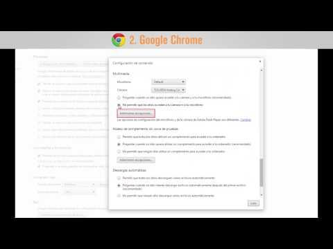 Cómo configurar las opciones de  privacidad en los principales navegadores