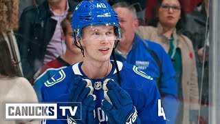 Elias Pettersson's First 22 Goals in the NHL