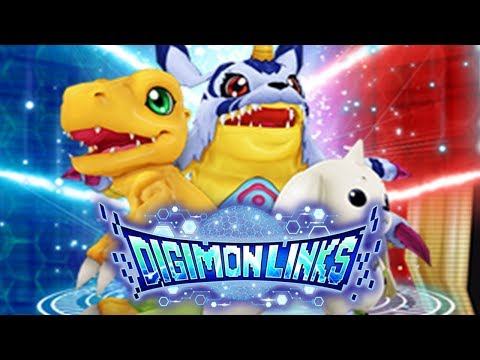 NEW DIGIMON MOBILE GAME! FIRST IMPRESSION! Digimon Links Gameplay | Digimon Links!
