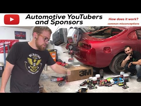 Automotive YouTubers and Sponsors?