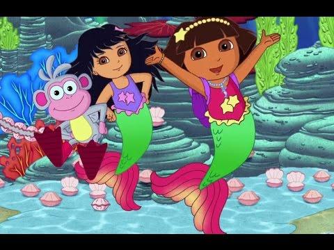 Dora La Exploradora Salva Las Sirenas Pelicula De Videojuego En Ingles