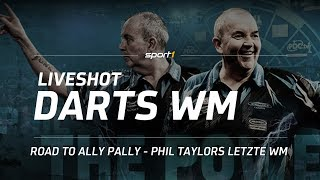 LIVE 🎯  | PDC Darts WM 2018 | Road to Ally Pally - Phil Taylors letzte WM | SPORT1