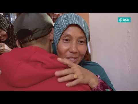 Senyum Mak Bila Tau Abang  Berpakat #RiuhkanRayaBSN Dengan Adik Untuk 'pekena' Dia
