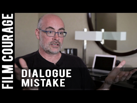 Biggest Mistake Screenwriters Make With Dialogue by Karl Iglesias