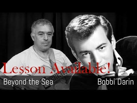 Beyond the Sea, Bobby Darin, fingerstyle guitar, Jake Reichbart, lesson available