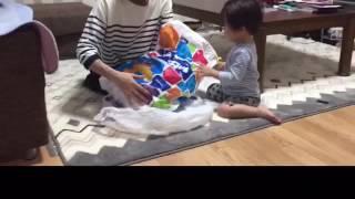 おじいちゃんとおばあちゃんと、お姉ちゃんからプレゼントがたくさん届...