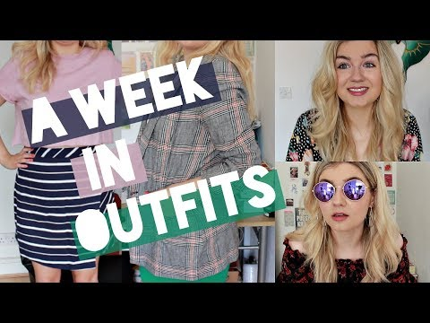 What I Wore in a Week | Summer Outfits