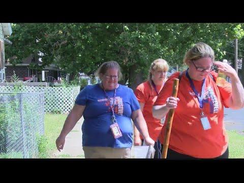 Roosevelt Magnet School Teachers visit student homes 5 PM