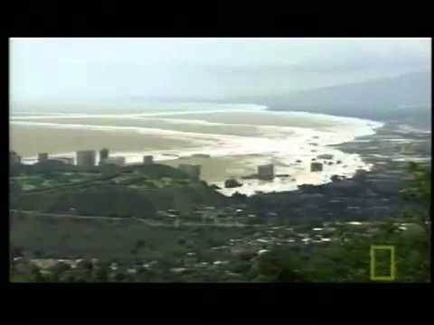 Tsunami Hawaii 2012 by landslide  Mega Tsunami