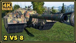 T95 - 9 Kills - 9,4K Damage - 2 VS 8 - World of Tanks Gameplay