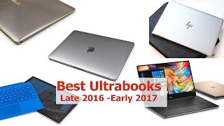 Best Ultrabooks Late 2016 - Early 2017 thumbnail