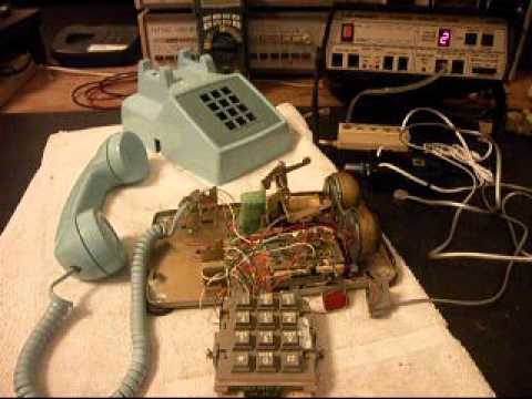 hqdefault western electric 2500 touch tone telephone repair www a1 telephone wiring diagram western electric 2500 at virtualis.co