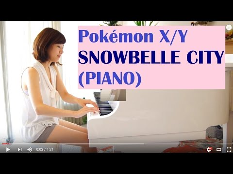 Pokemon X/Y - Snowbelle City Theme (Piano)