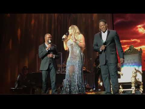 Mariah Carey - One Sweet Day (Live Rogers Arena Vancouver Canada)