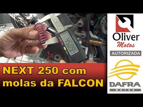 Dafra Next 250 com molas da embreagem da FALCON?