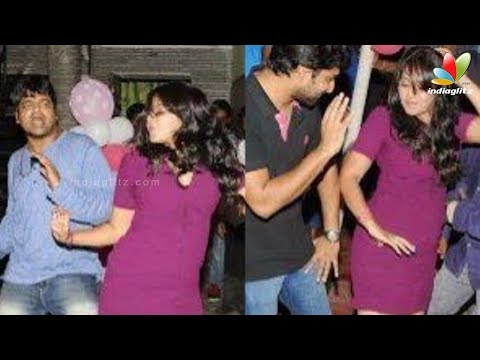 Anjali in Midnight Party with Producers - Sizzling Snaps | Hot Cinema News