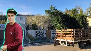 See Justin Bieber And Hailey Baldwin's New Beverly Hills MANSION! - EXCLUSIVE VIDEO!