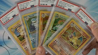 Pokemon PSA Graded Returns - 1st Edition Base Set Cards!