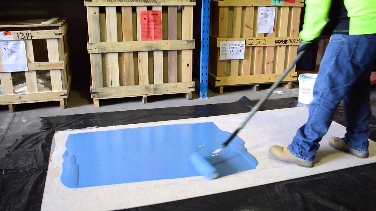 Handy Hints - How to Apply Epoxy Resin Using A Roller