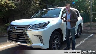 Review: 2018 Lexus LX 570 - The Most Reliable Luxury SUV?