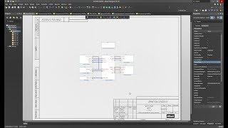 Преобразование плоской схемы в иерархическую в Altium Designer
