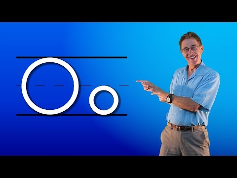 Learn The Letter O | Let's Learn About The Alphabet | Phonics Song for Kids | Jack Hartmann