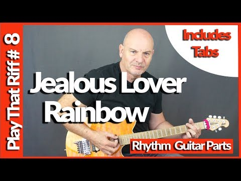 Jealous Lover by Rainbow Guitar Lesson - Play That Riff #8 - Tabs Included