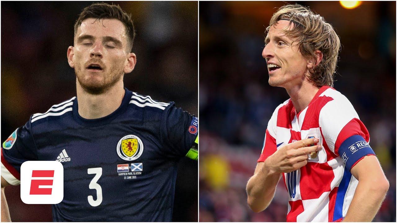 Reaction to Scotland's Euro 2020 elimination and Luka Modric's stunning goal for Croatia | ESPN FC