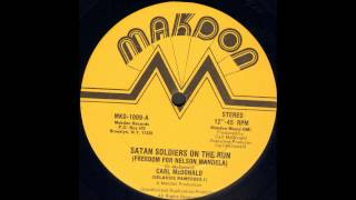 Carl McDonald - Satan Soldiers On The Run